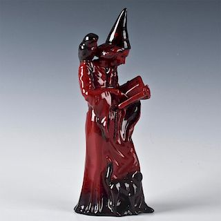 ROYAL DOULTON FLAMBE, THE WIZARD FIGURINE HN3121