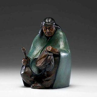 Martha Pettigrew (American, 20th century) Bronze