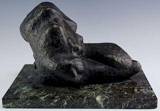 Sydney Alex Kumalo Modernist South African Bronze