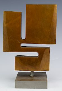 Jean Jacques Besner Modernist Bronze Art Sculpture