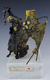 Mario Agostinelli American Brutalist Art Sculpture