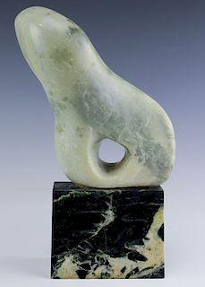Modernist Mid Century Modern Hard Stone Sculpture