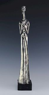 Peggy Reventlow American Sterling Silver Sculpture