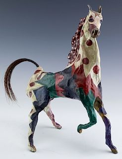 Susan Rowland b.1940 American Bronze Horse Statue