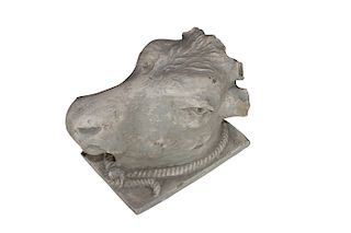 Bull's Head After The Greco/Roman Helenistic Original