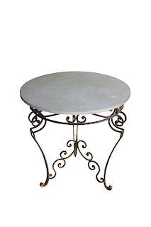 Antique English Art Nouveau Garden Table