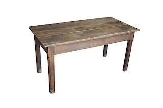 Antique French Oak Desk