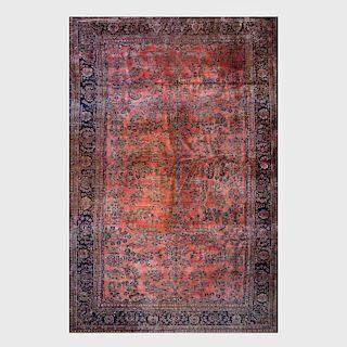 Large Sarouk Carpet