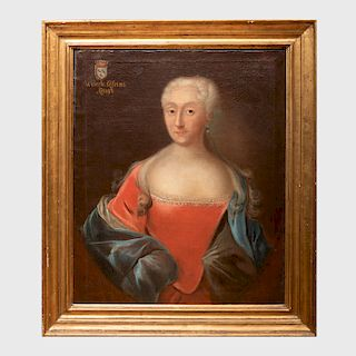 Continental School: Portrait of Wibeche Catrina Kragh