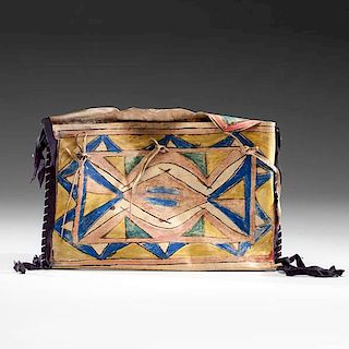 Sioux Parfleche Envelope Property of the Solon Historical Society