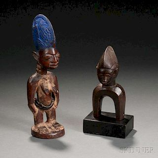 Two African Carvings