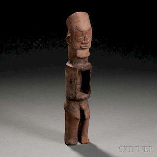 Teke Carved Wood Power Figure