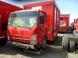 Chasis cabina Isuzu ELF 2010