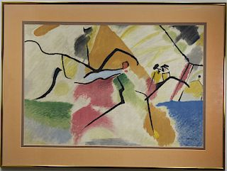 After Wassily Kandinsky (1866 - 1944)