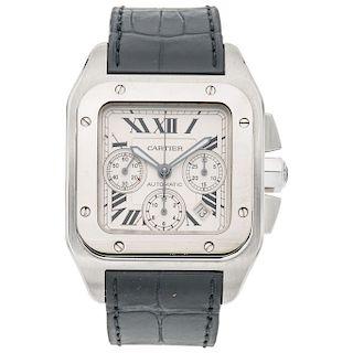 CARTIER SANTOS 100 REF. 2740 wristwatch.