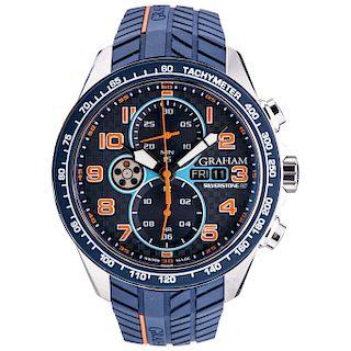 GRAHAM SILVERSTONE RS REF. GR2VWHD 01 wristwatch.