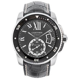 CARTIER CALIBRE DE CARTIER REF. 3729, CA. 2017 wristwatch.