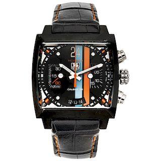TAG HEUER MONACO TWENTY FOUR wristwatch.