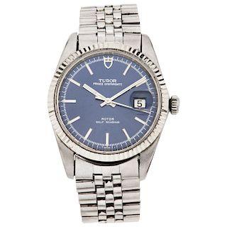 TUDOR PRINCE OYSTERDATE wristwatch.