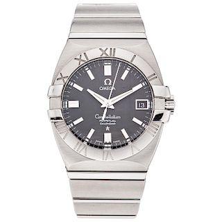 OMEGA CONSTELLATION DOUBLE EAGLE PERPETUAL CALENDAR wristwatch.