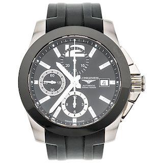 LONGINES CONQUEST REF. L3.661.4 wristwatch.
