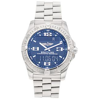 BREITLING AEROSPACE REF. E79362 wristwatch.