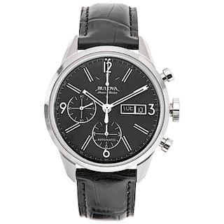 BULOVA ACCU-SWISS REF. 63C115 wristwatch.