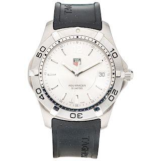 TAG HEUER AQUARACER REF. WAF1112 wristwatch.