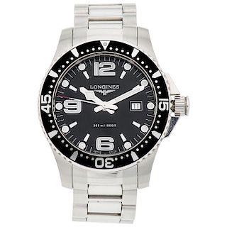LONGINES HYDRO CONQUEST REF. L3.640.4 wristwatch.