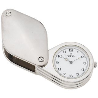 EBEL LOUPE ALARM REF. 2765 travel watch.
