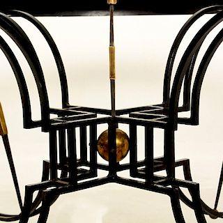 Round Dining Table Attributed to Arturo Pani