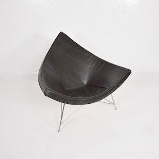 Early Coconut Lounge Chairs by George Nelson for Herman Miller