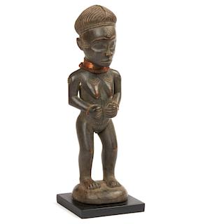 Female Chokwe Figure, Mid 20th Century