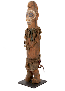Yaka Standing Shrine Fetish, Ex jean-Pierre Hallet