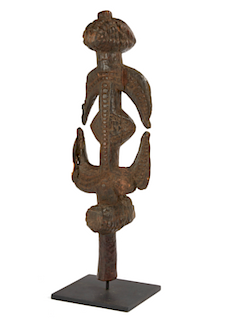 Abstract Nyanga Figural Pipe