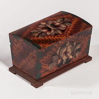 Small Paint-decorated Box