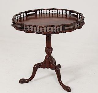 GEORGIAN BIRD-CAGE TILT TABLE