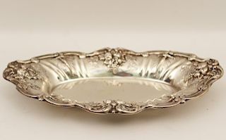 FRANCIS I STERLING SILVER TRAY, 14 TOW