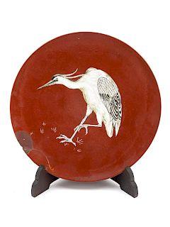 A Mintons Art Pottery Dish<br>Circa 1900<br>depic