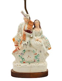 A Staffordshire Figural Group<br>19TH CENTURY<br>