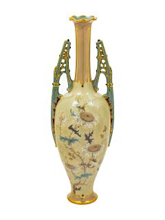 A Ernst Wahliss Vase<br>EARLY 20TH CENTURY<br>Hei