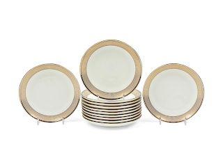 A Set of Twelve Tiffany & Co Porcelain and Pa