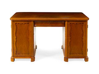 A Continental Writing Desk<br>Height 30 1/2 x wid