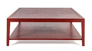 A Contemporary Lacquered Low Table<br>SECOND HALF