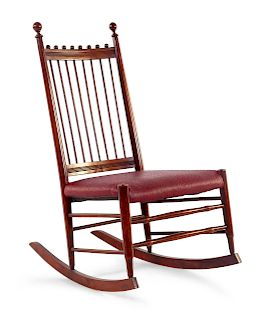 An American Federal Style Rocking Chair<br>20TH C