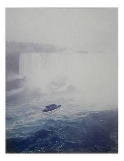Andreas Gursky Print, Niagara Falls 1989
