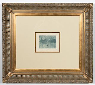 "Claude Monet, ""Soleil Levant"" Heliogravure, C.1906"