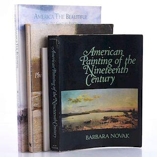 SET OF 4 HISTORICAL BOOKS ON AMERICAN ART