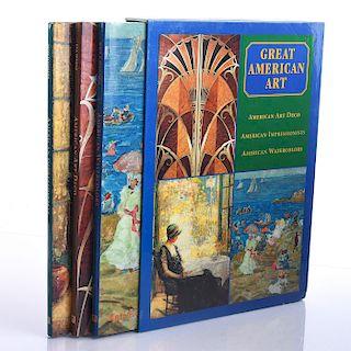 3 BOOKS, ON GREAT AMERICAN ART