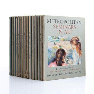 15 BOOK SET METROPOLITAN SEMINARS IN ART PORTFOLIOS